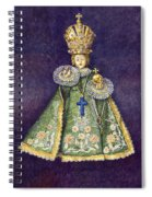 Infant Jesus Of Prague Spiral Notebook