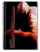 Inferno Spiral Notebook