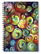 Infinite Cosmic - Abstract Spiral Notebook