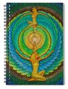 Infinite Isis Spiral Notebook