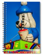 Inflated Temptation 2 Spiral Notebook
