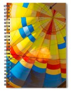 Inflating The Balloon Spiral Notebook