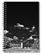Infrared Farm Spiral Notebook