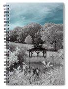 Infrared Gazebo Spiral Notebook