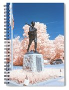 Infrared Memorial Spiral Notebook