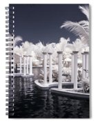 Infrared Pool Spiral Notebook