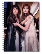 Ingrid Pitt And Madeline Smith Spiral Notebook