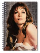 Ingrid Pitt, Vintage Actress Spiral Notebook