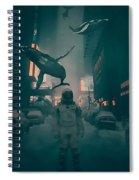 Inhabitants Spiral Notebook