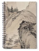 Ink Painting Landscape House Spiral Notebook