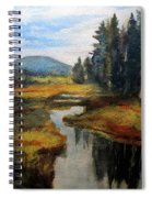 Inlet In Indian Lake Spiral Notebook