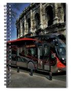 Inner City Tram Spiral Notebook