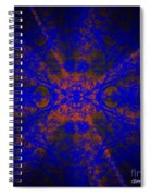 Inner Glow - Abstract Spiral Notebook