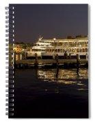 Inner Harbor Tour Boat Spiral Notebook
