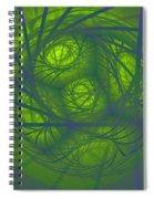 Inner Light Spiral Sanctum Spiral Notebook