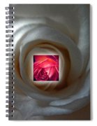 Inner Rose Spiral Notebook