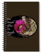 Inner Strength Spiral Notebook