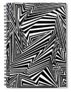 Inner Undulations Spiral Notebook