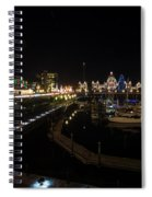 Inner Harbour Of Victoria Bc Spiral Notebook