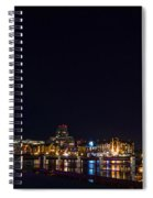 Inner Harbour Of Victoria Bc - 3 Spiral Notebook