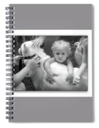 Innocence And Love Spiral Notebook