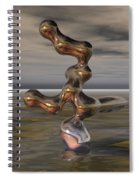 Innovation The Leap Of Imagination  Spiral Notebook