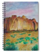 Inscription Rock  Spiral Notebook
