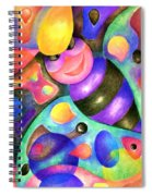 Insect Masquerade Party Spiral Notebook