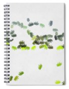 Insects Marching All Over Spiral Notebook