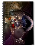 Insecurity Begets Fashion Spiral Notebook