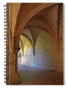 Inside A Monastery Dordogne France  Spiral Notebook