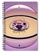 Inside A Saturn Bubble Spiral Notebook
