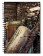 Inside Barn Spiral Notebook