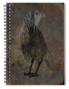 Inside Crow Spiral Notebook