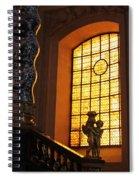 Inside Les Invalides Spiral Notebook