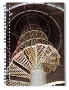 Inside Looking Up - Matagorda Island Lighthouse Spiral Notebook