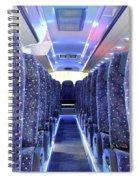 Inside Of New Bus  Spiral Notebook