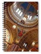 Inside Saint Matthew's Cathedral -- At An Angle Spiral Notebook