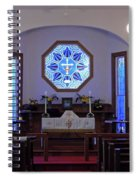 Inside The Church Of The Mediator Spiral Notebook