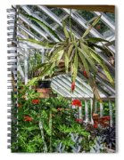 Inside The Greenhouse Spiral Notebook
