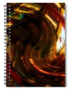 Inside The Magick Book Shop Spiral Notebook