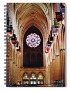 Inside The National Cathedral Spiral Notebook