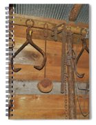 Inside The Tool Shed Spiral Notebook