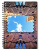 Inside The Tower Spiral Notebook