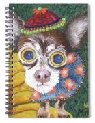 Inside Van Gogh Gardens Sits Sunflower Sally Spiral Notebook