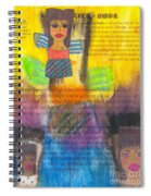 Inspiration Angels Spiral Notebook