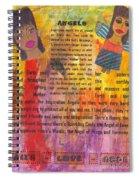 Inspiration Angels II Spiral Notebook