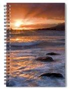 Inspired Light Spiral Notebook