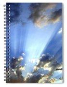 Inspiring Sunburst Spiral Notebook