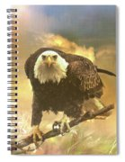 Intense Eagle Stare Spiral Notebook